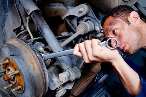 Eine Garage ist der beliebteste Fluchtpunkt für die Ehemänner. Foto: Alamy/Legion Media