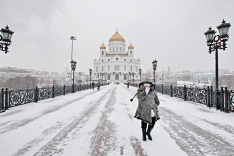 So kalt war es Mitte Dezember zuletzt vor 50 Jahren in vielen Teilen Russlands Foto: PhotoXPress