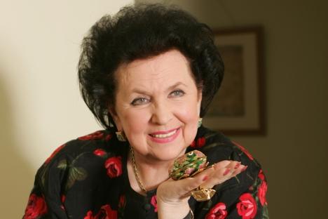 Die russische Operdiva Galina Wischnewskaja. Foto: ITAR-TASS.