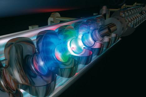 XFEL ist der weltweit stärkste Röntgenlaser. Foto: Pressebild