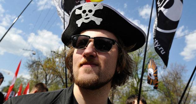Das Idealbild eines Wählers der Piratenpartei: jung, städtisch und gut ausgebildet. Foto: RIA Novosti.