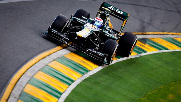 """Russischer Formel-1 Pilot Witali Petrow fährt zurzeit für den F1-Rennstall """"Caterham"""". Foto: ITAR-TASS."""