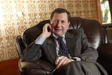Wladimir M. Grinin ist seit 2010 russischer Botschafter in Deutschland. Foto: Pressebild