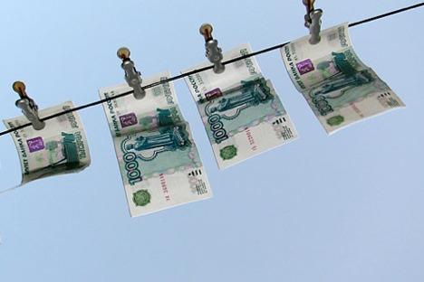 Neues Geld, frisch geweschen - Korruption bleibt eines der Haiptprobleme Russalnds.  Foto: PhotoXPress