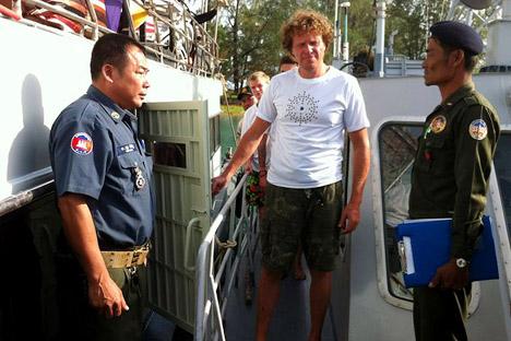 Sergej Polonski brachte eine Sylvesterfeier auf einer unbewohnten Tropen-Insel ins Gefängnis. Foto: AFP/ East News