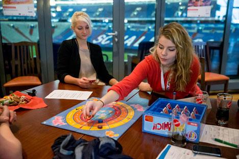 Die Finalisten des Russischpokals tellten ihr Können im Dezember in Gelsenkirchen unter Beweis.Foto: Pressebild