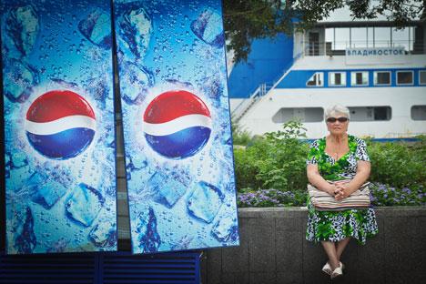 Das russische Gesundheitsministerium findet die Werbung  für die kalorienreiche Lebensmittel schädlich. Foto: RIA Novosti