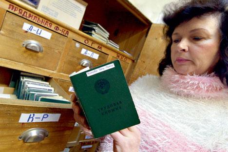 Arbeitsbücher könnten in Russland bald abgeschafft werden. Foto: ITAR-TASS
