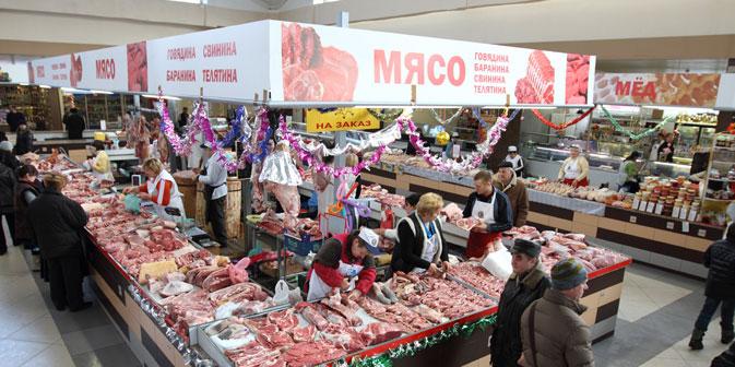 Russland verhängt ab 4. Februar 2013 eine Importsperre für gekühltes Fleisch aus Deutschland. Grund: angeblich schlechte Kontrollen. Foto: Lori / Legion Media
