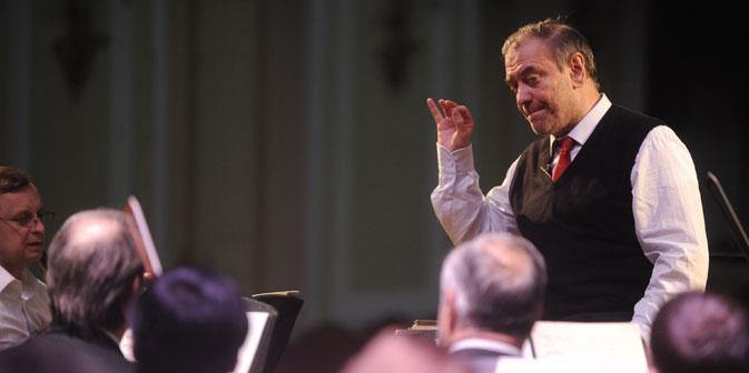 Waleri Gergijew wird ab 2015 der neue Chefdirigent der Münchener Philharmoniker. Foto: ITAR-TASS