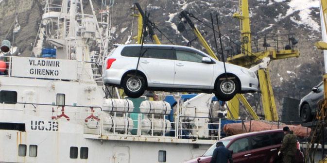 Die Abwrackgebühren für die importierte gebrauchte Autos wurden eine Woche nach dem WTO-Beitritt Russlands eingeführt. Foto: ITAR-TASS