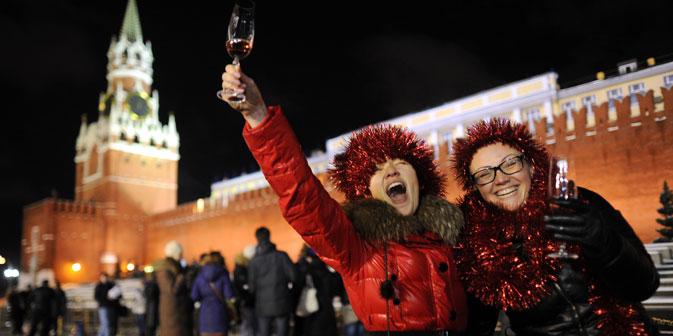 Das Erliegen des öffentlichen Lebens in Russland während der Neujahrsfeiertage kann mit der Zeit nach dem Mondfest in China oder der Ferienzeit im Sommer in Europa verglichen werden. Foto: RIA Novosti