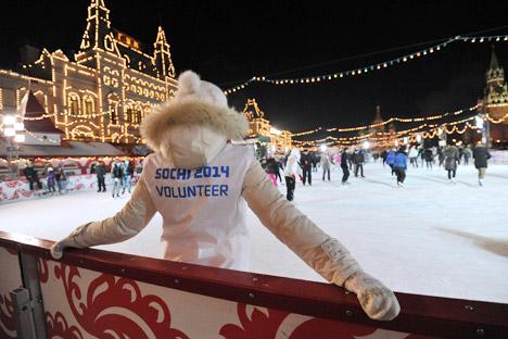 Volontäre für Sotschi-Olympia sind hochgefragt. Foto: Kommersant