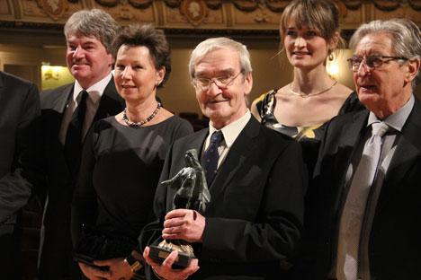 Weltenretter Stanislaw Petrow bekommt den Dresden-Preis. Foto: RIA Novosti