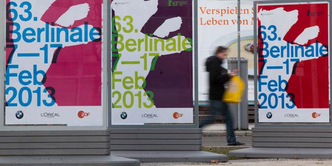 Heute beginnt  die 63. Berlinale. Foto: AP