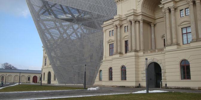 Das Militärhistorische Museum der Bundeswehr in Dresden. Foto: Gernot Borriss