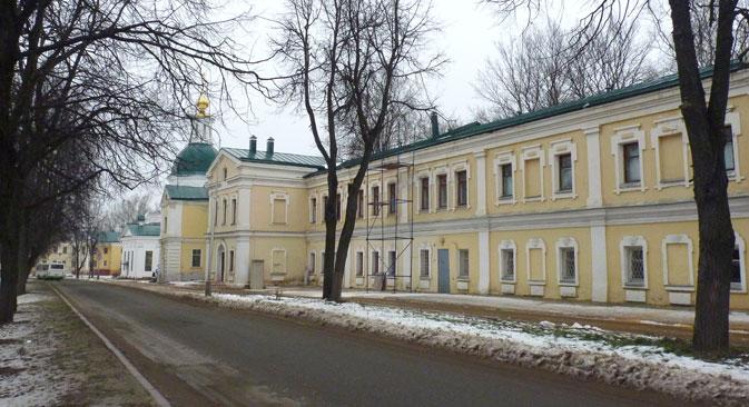 """Sarow sieht wie eine typische russische Kleinstadt aus, ist jedoch eine der 40 Städte mit """"beschränktem Zugang"""". Foto: Andrej Solotow, RIA Novosti"""