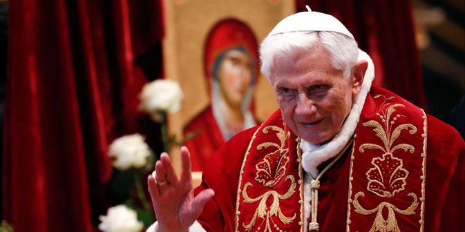 """Das Moskauer Patriarchat wertet die Entscheidung Papst Benedikt XVI. als """"Akt von persönlichem Mut und Demut"""". Foto: Reuters"""