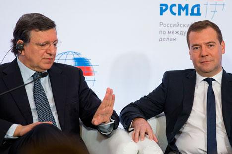 EU-Russland Beziehungen: Zunächts keinen Fortschritt. Foto: AP