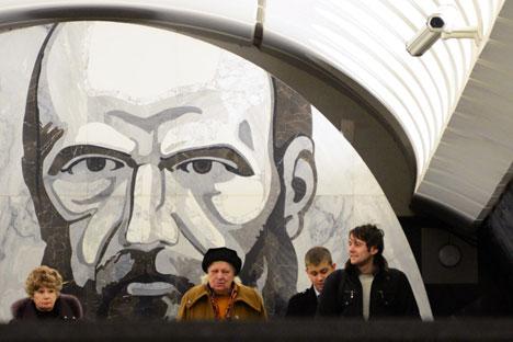 Die Anhänger des Slawentums wie Dostojewski, Gogol und Solschenizyn standen für das Gedeihen des Slawentums ein und wollten einen eigenen Weg für Russland. Foto: AFP / East News