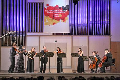 In Jekaterinburg finden die Tage deutscher Musik statt.  Foto: Tatjana Andrejewa