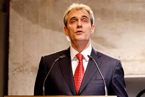 Präsident der Deutsch-Russischen Außenhandelskammer (AHK) Rainer Seele. Foto: Reuters