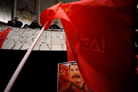 Viele Russen sind immer noch am Stalin-Mythos festhalten. Foto: Michail Mordassow/ Focuspictures