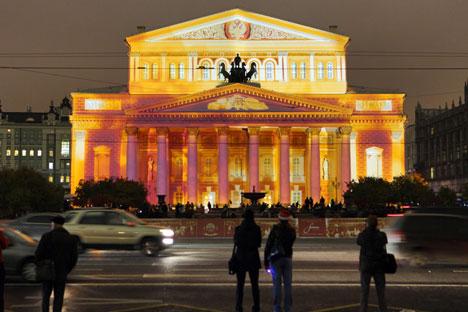 Von außen leuchtet das Bolschoi im neuen Glanz, doch im Innern haben sich gewaltige Konflikte angestaut. Foto:AP