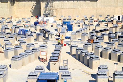 März 2012: Hier wird demnächst der Tokamak-Reaktor montiert. Foto: ITER Organization