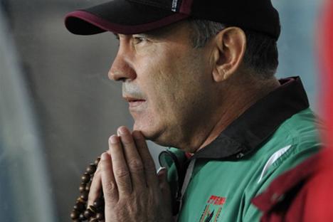 Kurban Berdiýew, Cheftrainer von Rubin Kasan. Foto: islam.ru