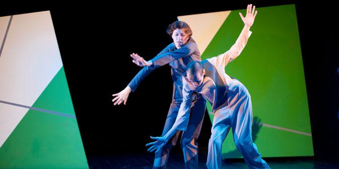 """Das Theaterstück """"Entfernte Nähe"""" gibt gehandicapten Künstlerinnen und Künstlern eine Chance, ihren Platz im kulturellen Leben Russlands einzunehmen. Foto: Iwan Wodopyanow / Goethe Institut"""