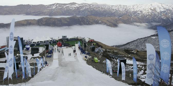 Laut Projektentwurf soll die Skisaison in Wedutschi sechs Monate dauern, von November bis April. Foto: RIA Novosti