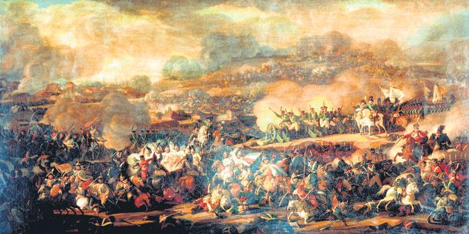 In der Völkerschlacht kämpften an die 180000 Russen an Preußens Seite. Foto: Pressebild