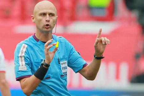 Sergej Karasew zählt zu den versprechendsten Schiedsrichtern Russlands. Foto: RIA Novosti