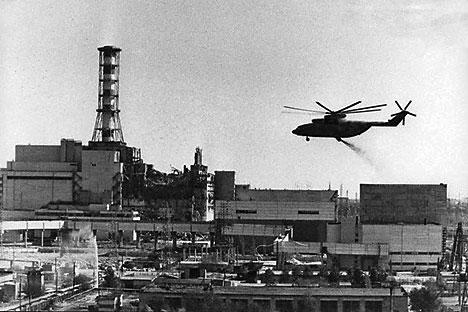 Dss Kernkraftwerk Tschernobyl. Foto: RIA Novosti