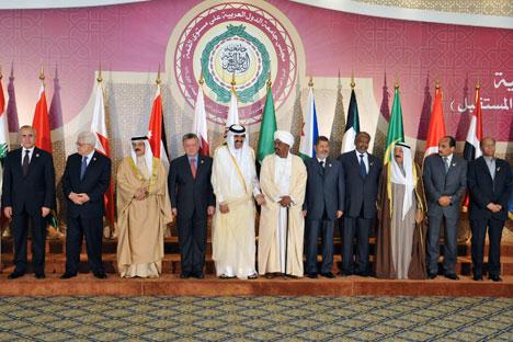 Die Nationale Koalition ist die einzige legitime Vertretung des syrischen Volkes, hieß es in der Resolution des Gipfels der Arabischen Liga. Foto: Reuters/Vostock Photo
