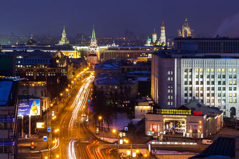 View over Moscow. Source: Slawa Stepanow / Gelio
