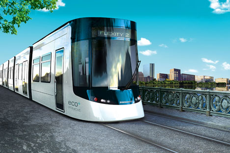 Die modernen Trams für die russische Hauptstadt werden auf Basis von Flexity 2 produziert. Foto: Pressebild