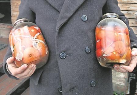 Gartentomaten: im Sommer essen, für den Winter einmachen. Foto: Kommersant