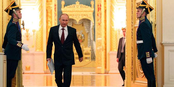 """""""Putin ist zu dem Schluss gekommen, dass er angreifbar würde, wenn er anfängt sich zu ändern"""", - meint der Politologe Alexej Makarkin. Foto: Reuters"""