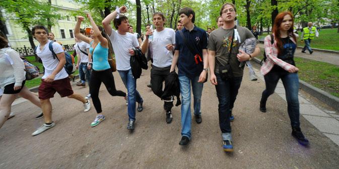 """Ziel der Moskauer Stadtregierung ist es, mit den """"Hyde-Parks"""" Orte einer neuen Kultur des städtischen Protestes zu schaffen. Foto: ITAR-TASS"""
