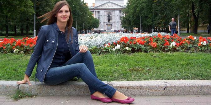 Julia Melnikowa. Foto aus dem persönlichen Archiv.