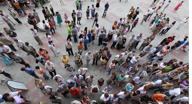 Laut Rosstat sind in Russland 4,3 Millionen Menschen (4,3 % der Bevölkerung) arbeitslos. Foto: RIA Novosti