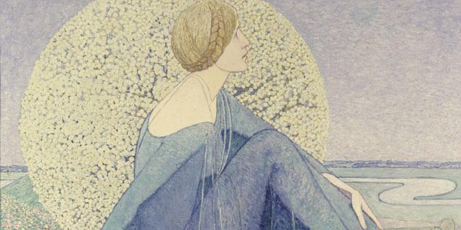 """""""Die Erwartung"""" von 1912 ist einer der Höhepunkte der Jugendstilphase Heinrich Vogelers. Foto: Fotodom"""