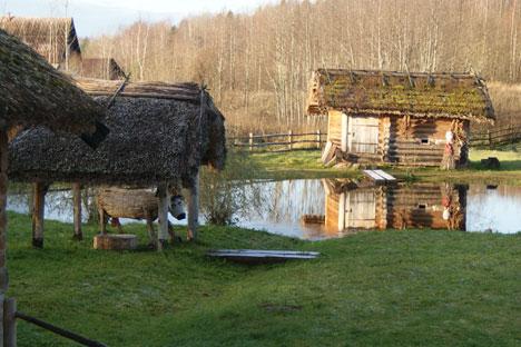 Museumsdorf Burgowo. Foto: Ilja Brustein