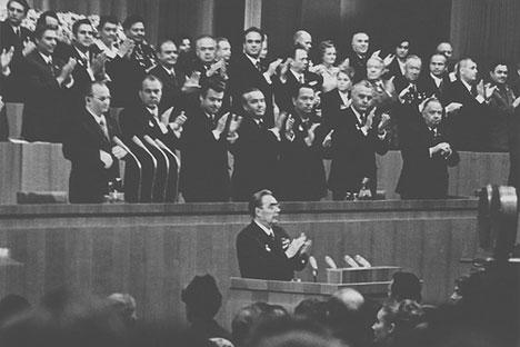 Leonid Breschnew wird heute in Russland mit dem relativen Wohlstand assoziiert, der Ende der 60er/ Anfang der 70er Jahre in der Sowjetunion herrsche. Foto: Flickr / Ion Chibzii
