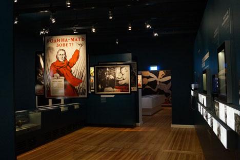 Die neue Dauerausstellung im Deutsch-Russischen Museum in Berlin-Karlshorst ist der 68. Wiederkehr des Kriegsendes gewidmet. Foto: Deutsch-Russisches Museum Berlin-Karlshorst (Copyright)