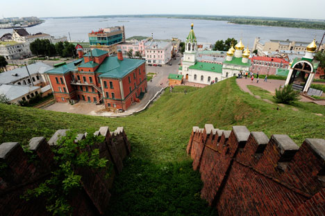 Die Millionenstadt Nischi Nowgorod ist zum Hotspot für Flusskreuzfahrten und zu einem beliebten Zentrum für internationale Ausstellungen geworden. Foto: Andrej Mindrjukow