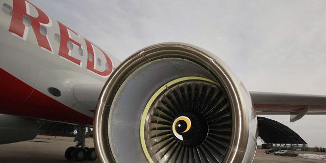 Experten gehen davon aus, dass sich Red Wings nach seiner Rückkehr auf dem Markt im Billigflugsektor einrichten wird. Foto: RIA Novosti