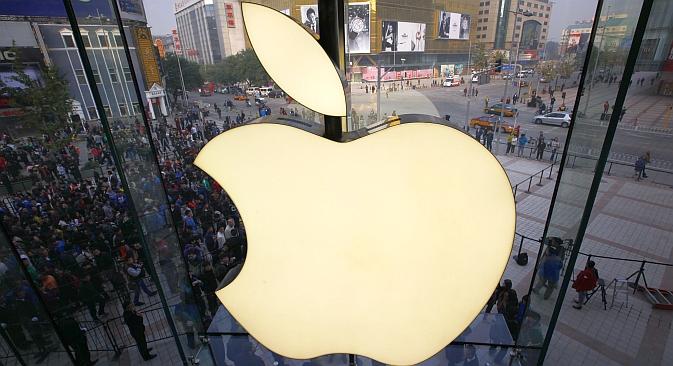 """Wenn Sie in einen Apple Store gehen, werden Sie entdecken, dass eine überraschend große Zahl der dortigen Top-100-Produkte aus Russland kommt"""", sagt Pekka Viljakainen, Berater der Moskauer Skolkowo-Stiftung. Foto: Reuters"""